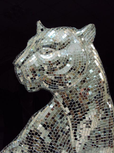mosaic panther