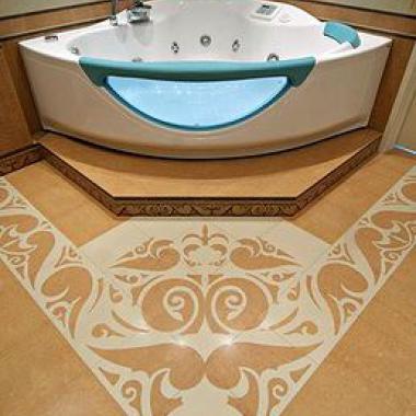 ванная с джакузи